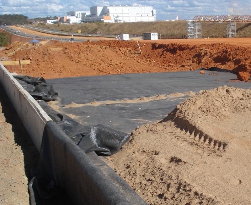 Muros e Aterros Sobre Solo Mole Reforçados com Geossintéticos Online - 04/12/2021